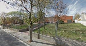 Entrada de l'institut Jaume Mimó de Cerdanyola