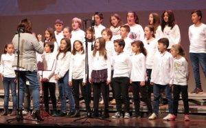 Alumnes de l'escola Serraparera