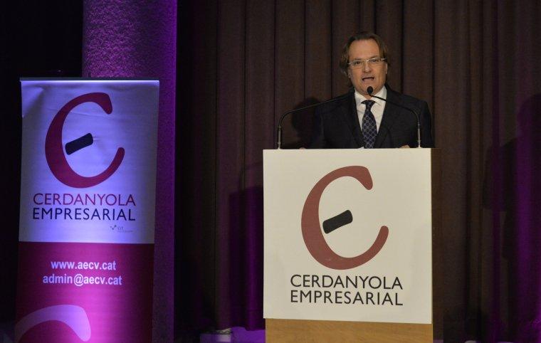 El president de Cerdanyola Empresarial, Lluís Siquella