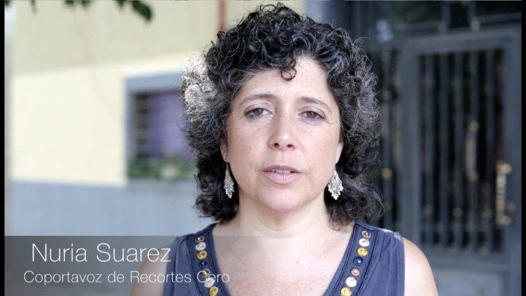 La candidata a la presidència de la Generalitat per Recortes-Cero