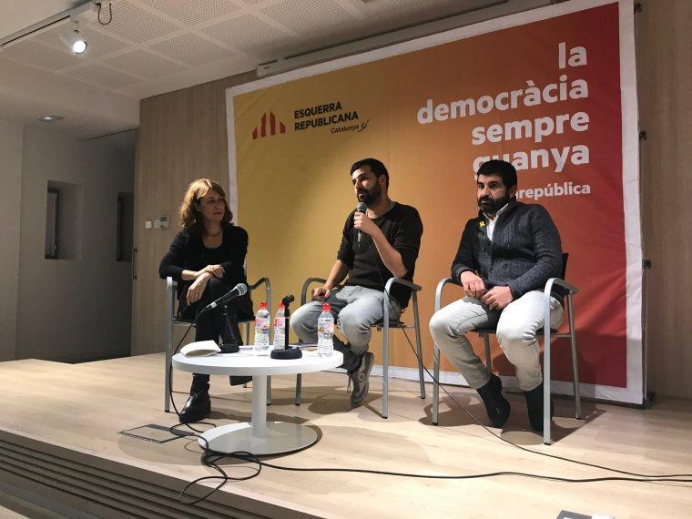 L'acte d'inici de campanya d'ERC Cerdanyola
