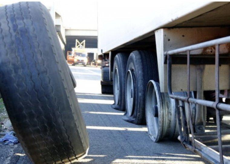 Un dels camions afectats