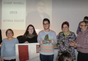 Entrega de la setena edició del Premi Solidari. Enguany ja van per la desena edició.