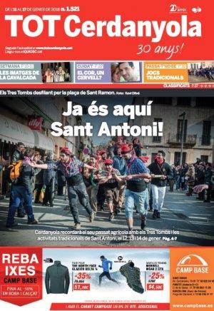 La portada del TOT 1521