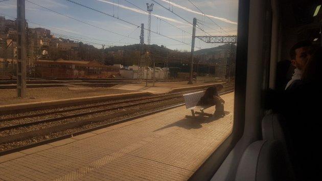 El tren aturat