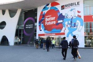 Entrada del Mobile World Congress a Barcelona