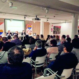 Imatge de la trobada el 6 de febrer.