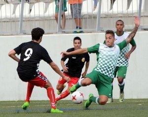 Imatge del Cerdanyola FC en un partit de jornades anteriors