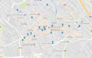 Imatge del mapa de la Setmana del Bacallà