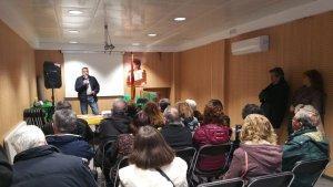 Josep Maria Gispert va recordar la figura dels seus companys empresonats