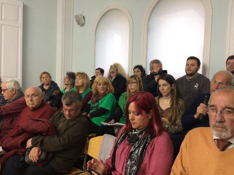 Els veïns participants de l'Audiència Ciutadana del mes de febrer