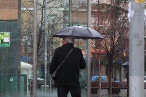 Imatge d'un dia de pluja a Cerdanyola