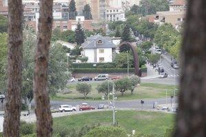 Imatge recurs de la plaça de l'Estatut a Cerdanyola