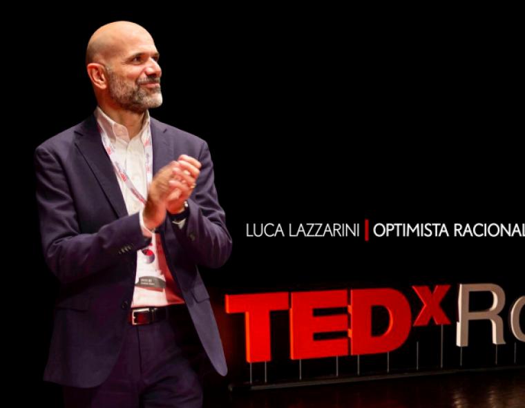 El conferenciant Luca Lazzarini