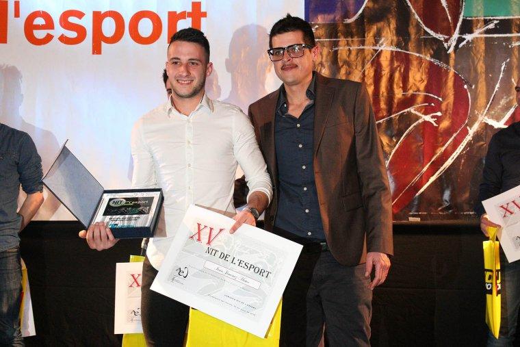 Ivan Jiménez (taekwondo) es va emportar el premi a millor esportista de Cerdanyola