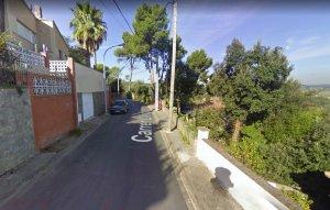 El carrer Lleida on es denuncia que van ocòrrer els fets