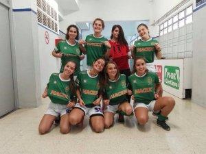Jugadores de l'equip actual del femení sots 16 del Cerdanyola CH