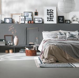 La ceràmica també es fa servir per les habitacions