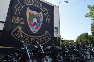Les motos eren la porta d'entrada a la celebració