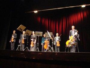 L'Orquestra de Cambra de Cerdanyola durant una actuació