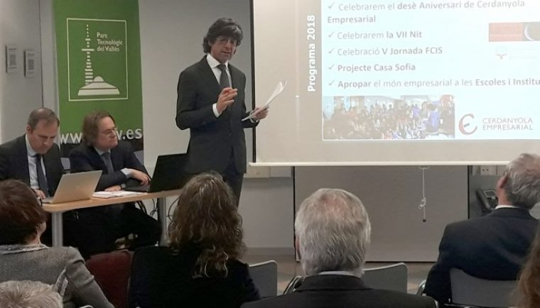 Jaume Maranges va ser escollit president en l'assemblea de socis de l'entitat