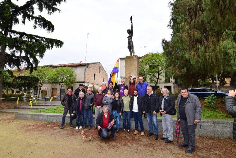 L'acte s'ha celebrat a la plaça de Sant Ramon