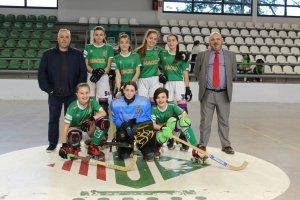 L'equip del Cerdanyola CH que disputarà el campionat Fem14