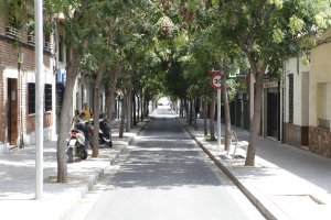 Un carrer de Cerdanyola