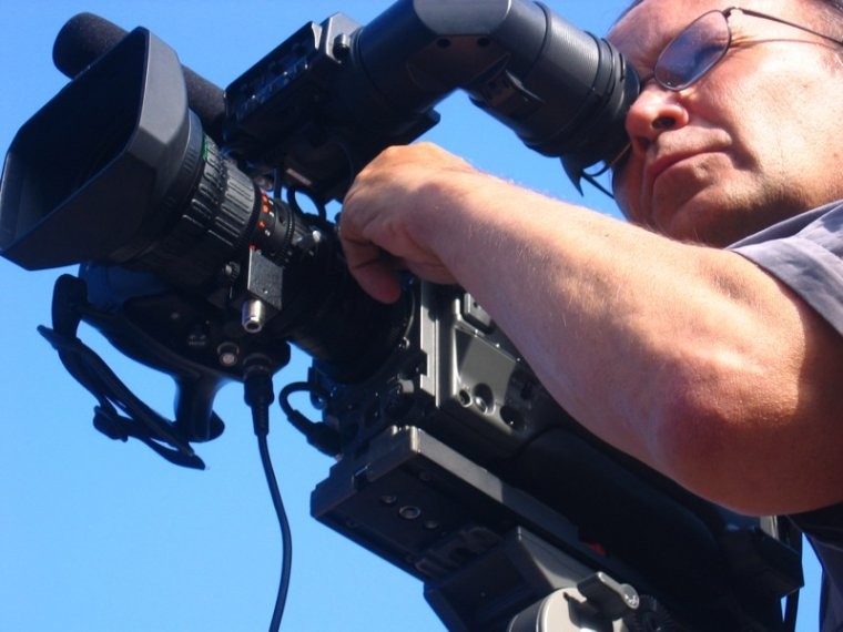 Un operado de càmera