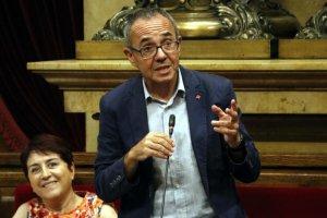 Joan Coscubiela al Parlament de Catalunya com a portaveu de Catalunya sí que es pot