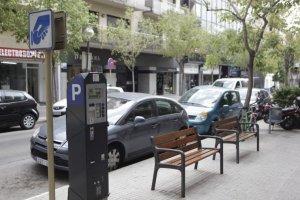 Un tram de zona blava a Cerdanyola
