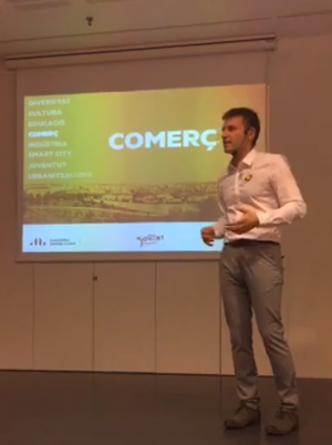 Xavier Corbera a la xerrada