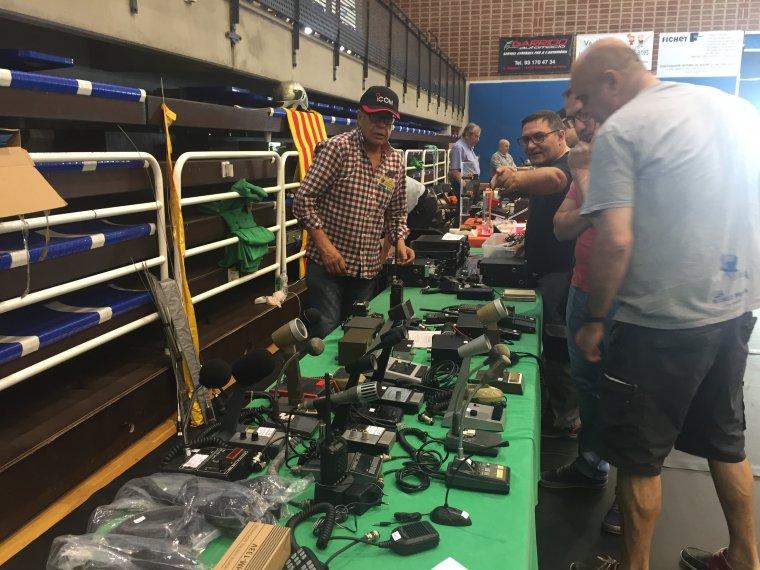 Durant el Merca-HAM es van mostrar diferent tipus d'aparells