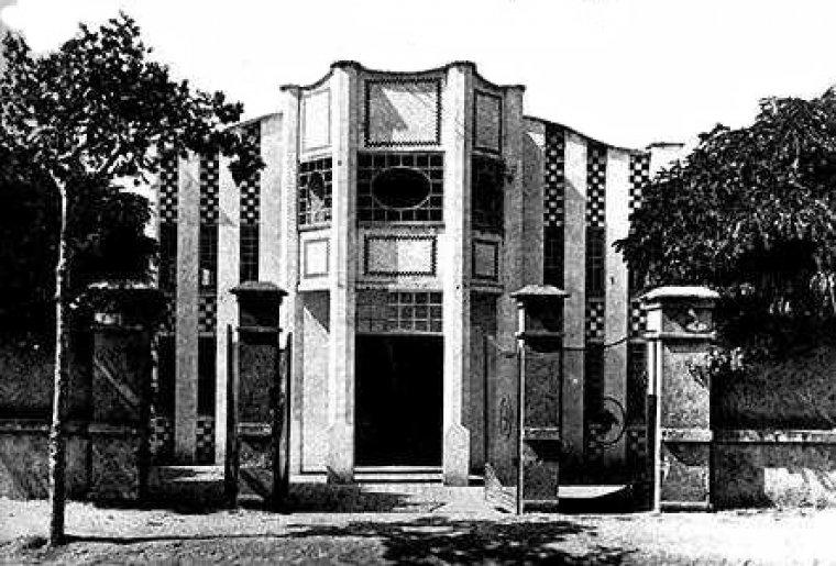 Gran Casino del carrer Santa Ana al 1915