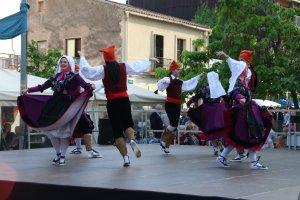 Actuació de l'Esbart Dansaire de Sant Marçal