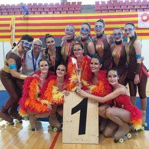 El CP Cerdanyola va celebrar dues medalles d'or a Figueres