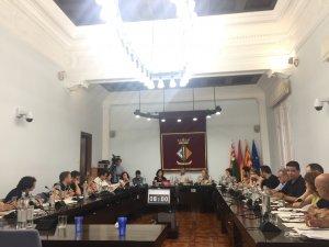 Els regidors durant el Ple Municipal del 26 de juliol