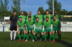 L'once inicial del Cerdanyola FC durant la Copa Catalunya