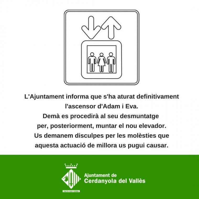Comunicat oficial de l'Ajuntament de Cerdanyola