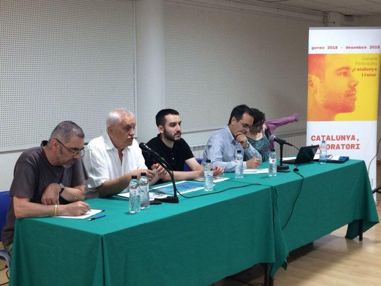 La taula rodona va estar organitzada en el marc del Congrès Catalunya i Futur