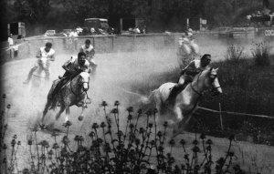 Foto d'una cursa d'hípica