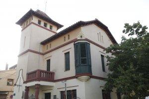 Torre Vinyals, edifici de l'escola Aulos