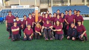 Delegació d'ASPADI als Specials Olympics