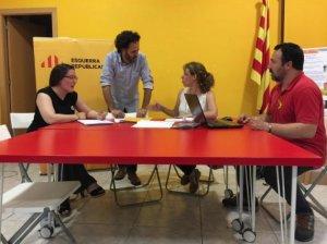 Els regidors d'ERC a Cerdanyola