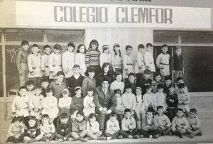Un grup escolar de l'escola Clemfor
