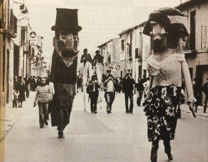 Foto històrica de la festa de tardor