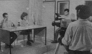 L'estudi de TV Cerdanyola s'ubicava a l'Ateneu