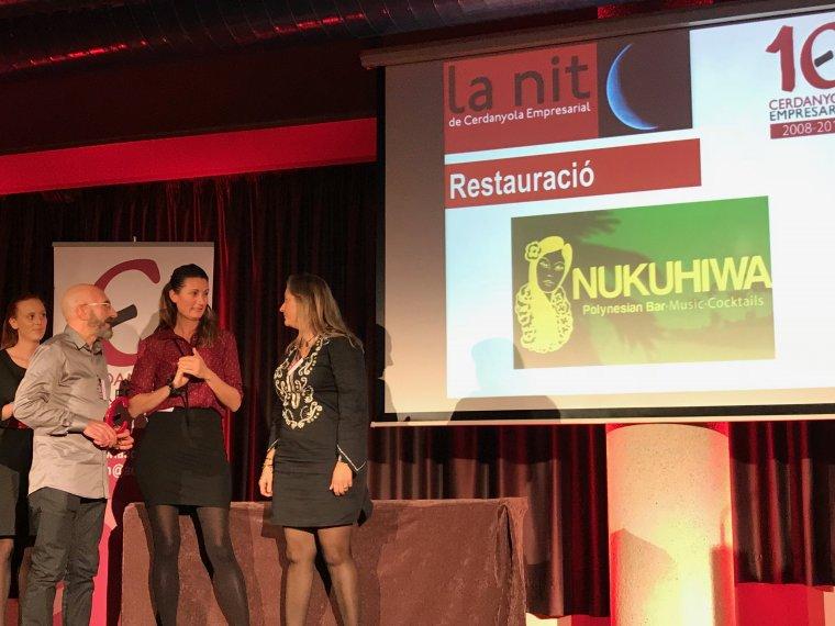 Els gerents de Nukuhiwa van recollir el premi