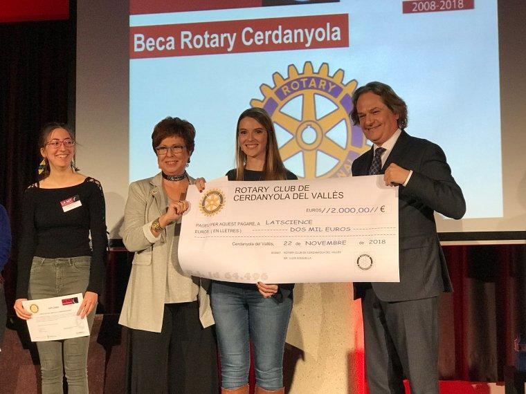 Lastscience va rebre la Beca Rotary per emprendre el projecte