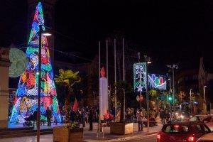 Arbre de Nadal a Abat Oliba